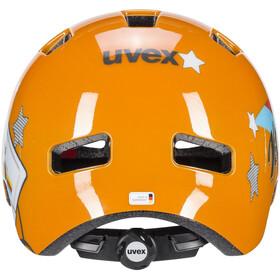 UVEX hlmt 4 Kask Dzieci, orange